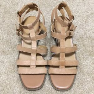 Lucky Brand Leather Sandals Size Women's 8